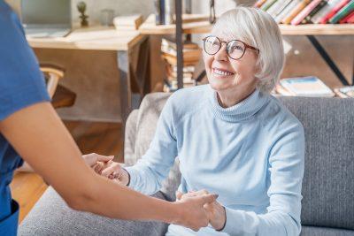 Senior Adult, Nurse, Patient, Care, Assistance